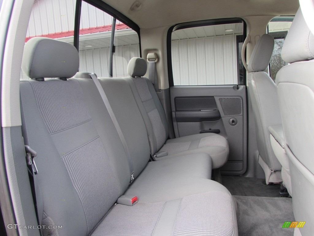 2008 Ram 3500 SLT Quad Cab 4x4 Dually - Brilliant Black Crystal Pearl / Medium Slate Gray photo #19