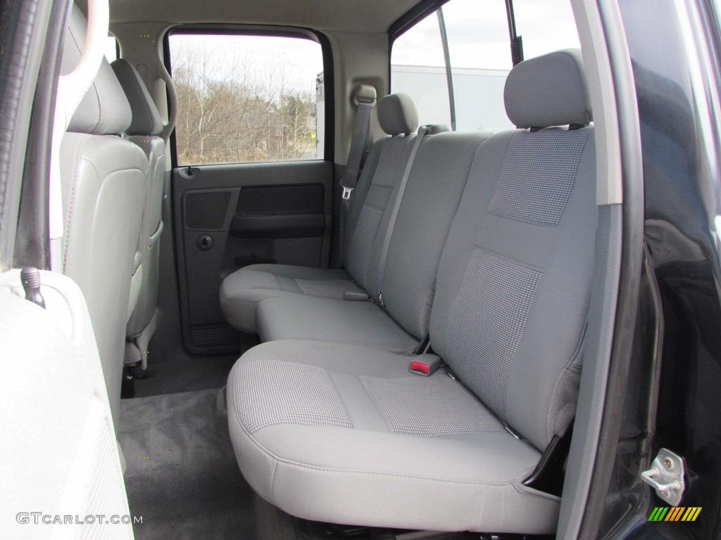 2008 Ram 3500 SLT Quad Cab 4x4 Dually - Brilliant Black Crystal Pearl / Medium Slate Gray photo #23