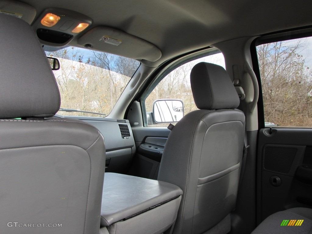 2008 Ram 3500 SLT Quad Cab 4x4 Dually - Brilliant Black Crystal Pearl / Medium Slate Gray photo #25
