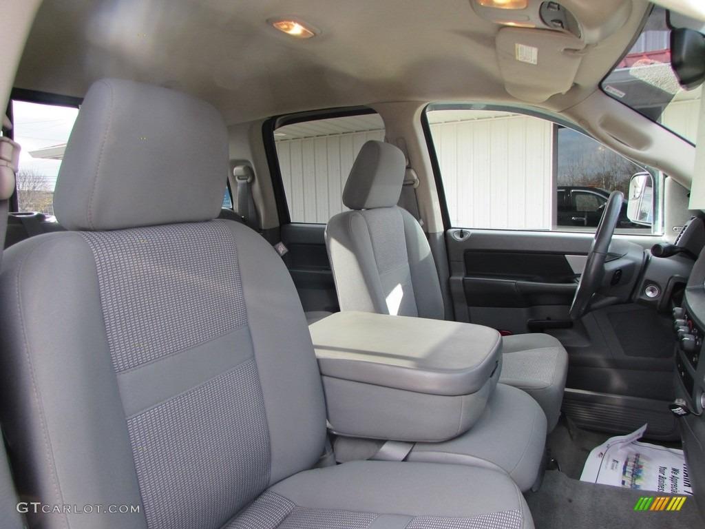 2008 Ram 3500 SLT Quad Cab 4x4 Dually - Brilliant Black Crystal Pearl / Medium Slate Gray photo #28