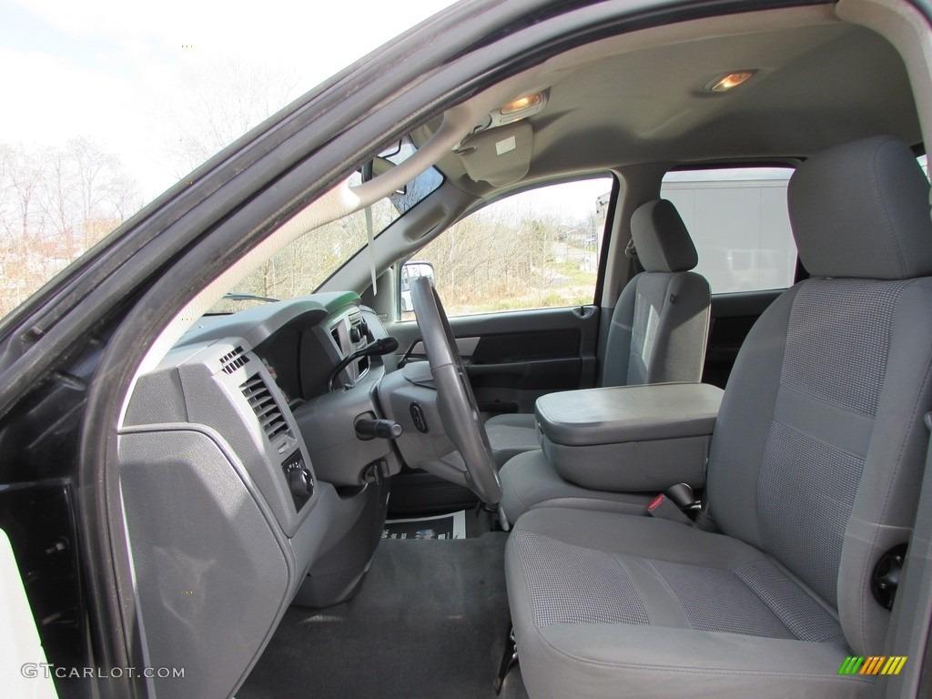 2008 Ram 3500 SLT Quad Cab 4x4 Dually - Brilliant Black Crystal Pearl / Medium Slate Gray photo #30