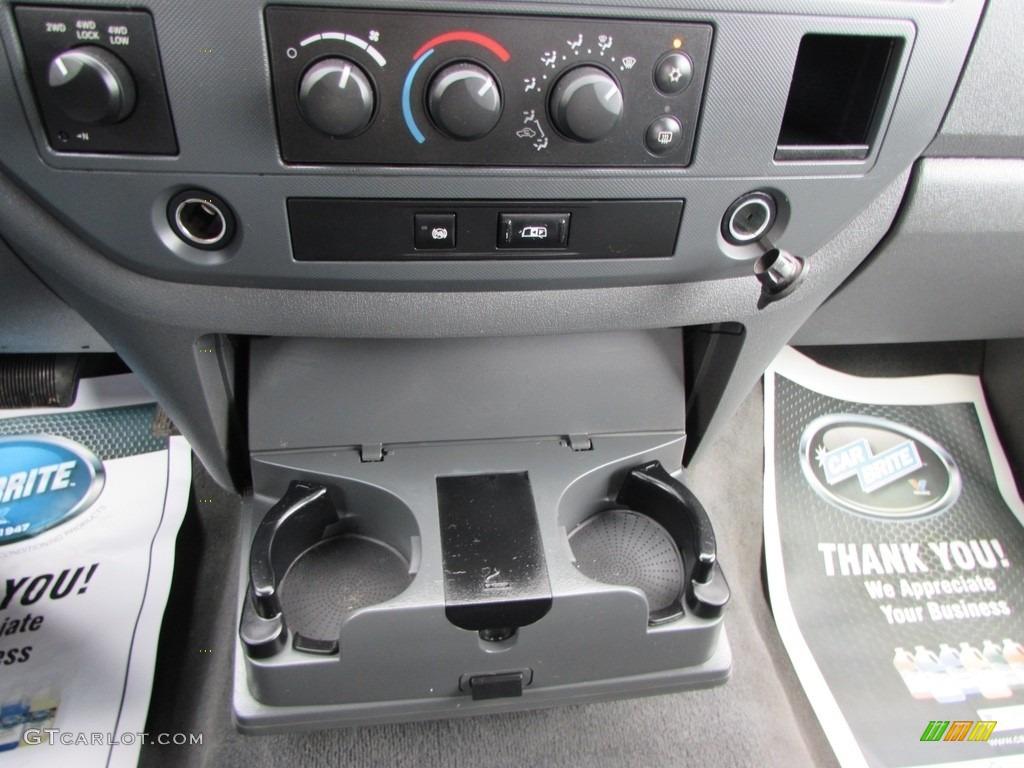 2008 Ram 3500 SLT Quad Cab 4x4 Dually - Brilliant Black Crystal Pearl / Medium Slate Gray photo #35