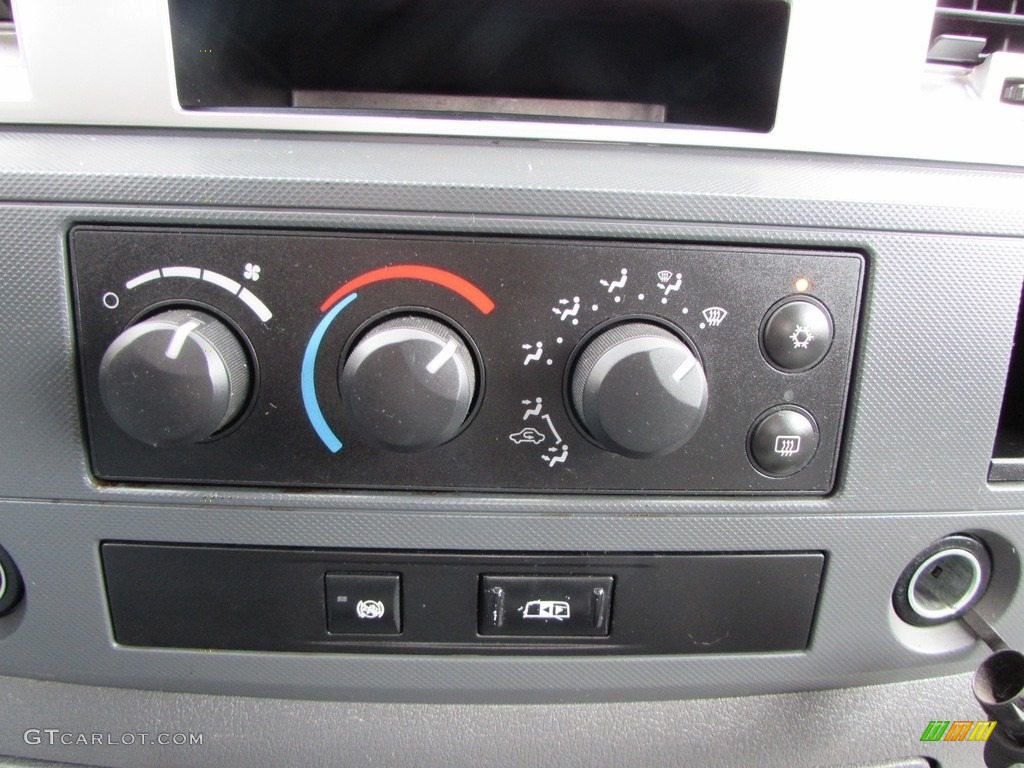 2008 Ram 3500 SLT Quad Cab 4x4 Dually - Brilliant Black Crystal Pearl / Medium Slate Gray photo #37