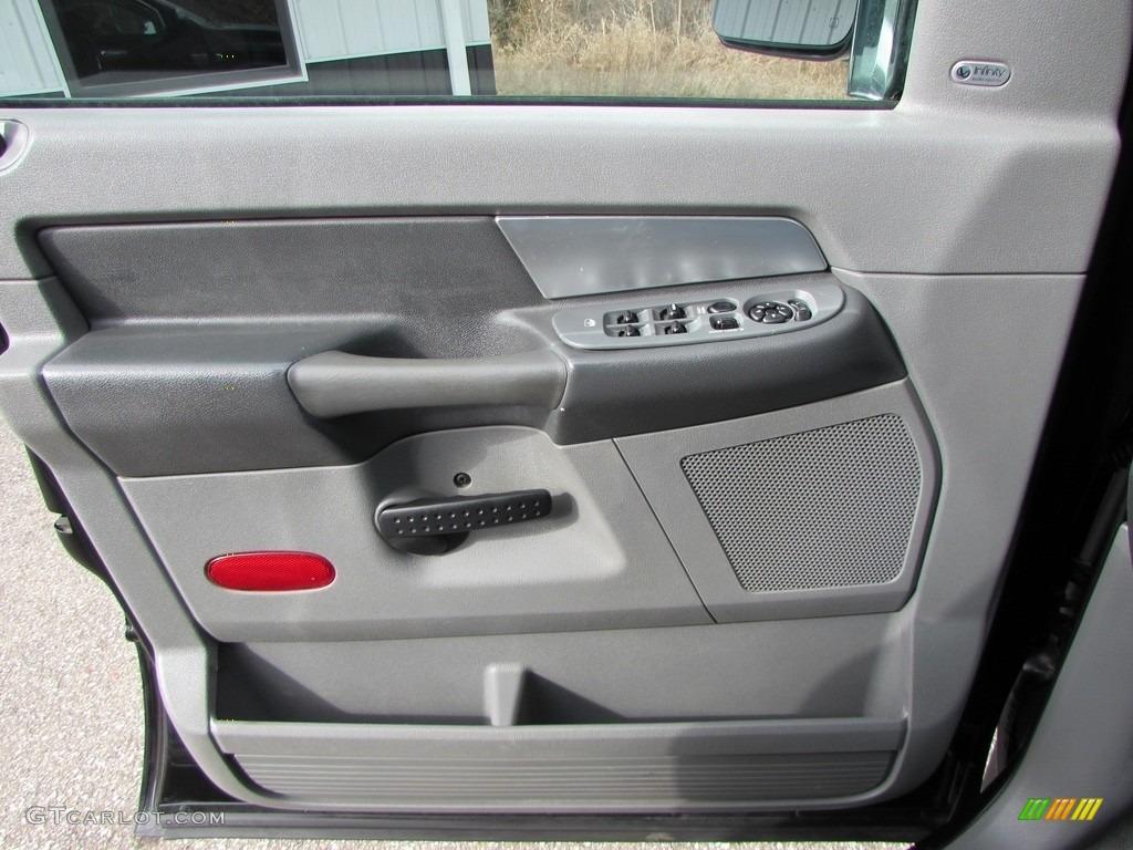 2008 Ram 3500 SLT Quad Cab 4x4 Dually - Brilliant Black Crystal Pearl / Medium Slate Gray photo #45