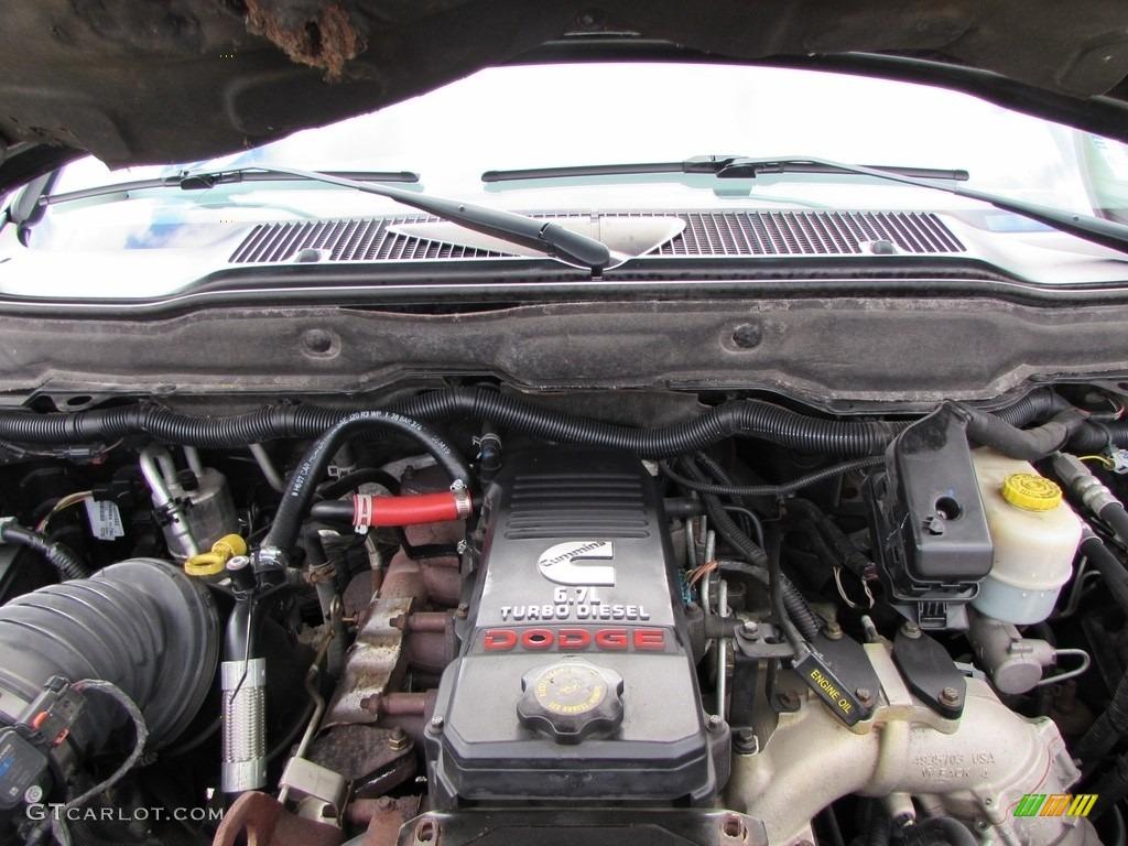 2008 Ram 3500 SLT Quad Cab 4x4 Dually - Brilliant Black Crystal Pearl / Medium Slate Gray photo #49