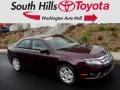 2011 Bordeaux Reserve Metallic Ford Fusion SE #117291169