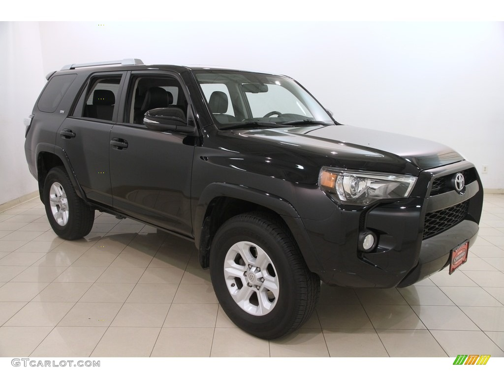 2016 midnight black metallic toyota 4runner sr5 premium 4x4 117291330 car. Black Bedroom Furniture Sets. Home Design Ideas