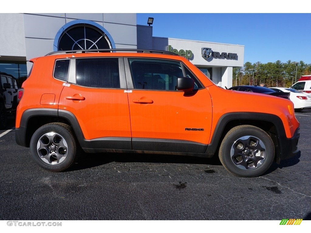 2017 Renegade Sport - Omaha Orange / Black photo #7