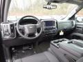 Jet Black Interior Photo for 2017 Chevrolet Silverado 1500 #117332446