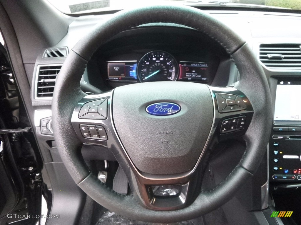 2017 Ford Explorer Limited 4WD Steering Wheel Photos