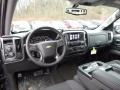 Jet Black Interior Photo for 2017 Chevrolet Silverado 1500 #117335452