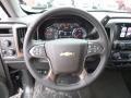 Jet Black Steering Wheel Photo for 2017 Chevrolet Silverado 1500 #117335611