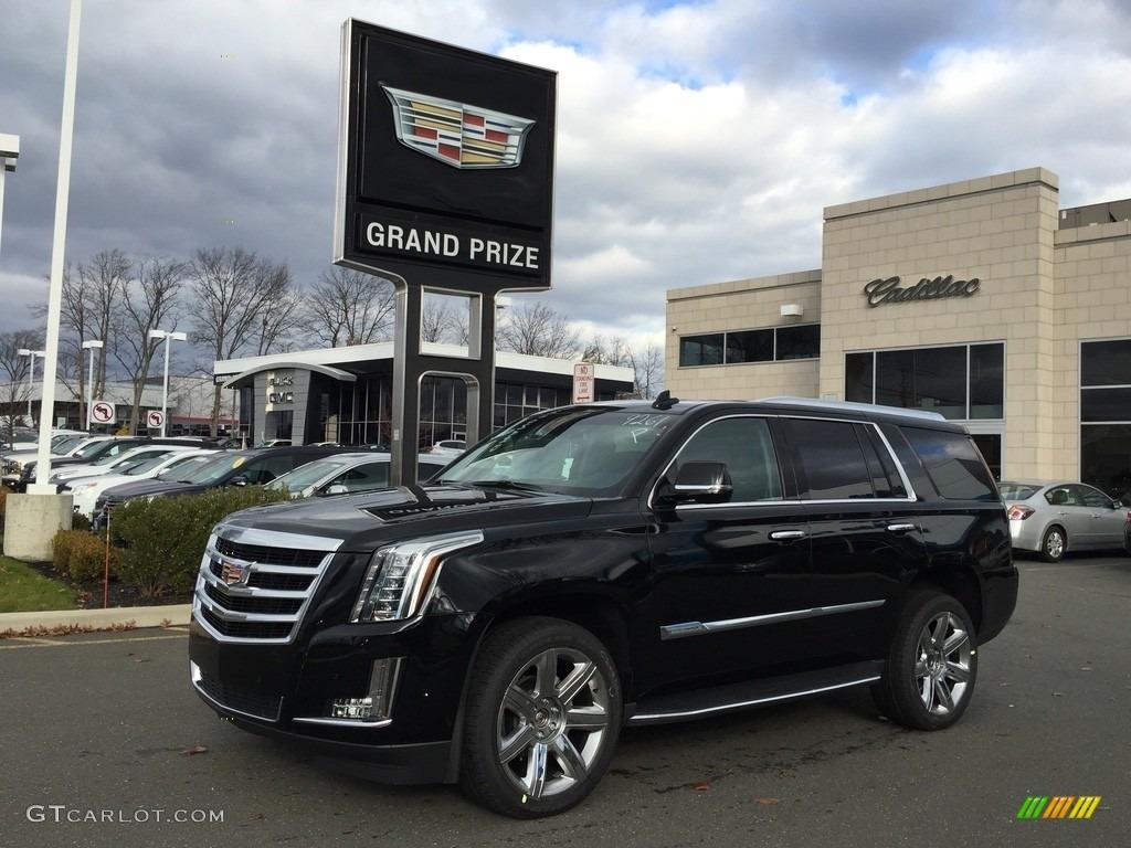 2017 Black Raven Cadillac Escalade Luxury 4wd 117319043