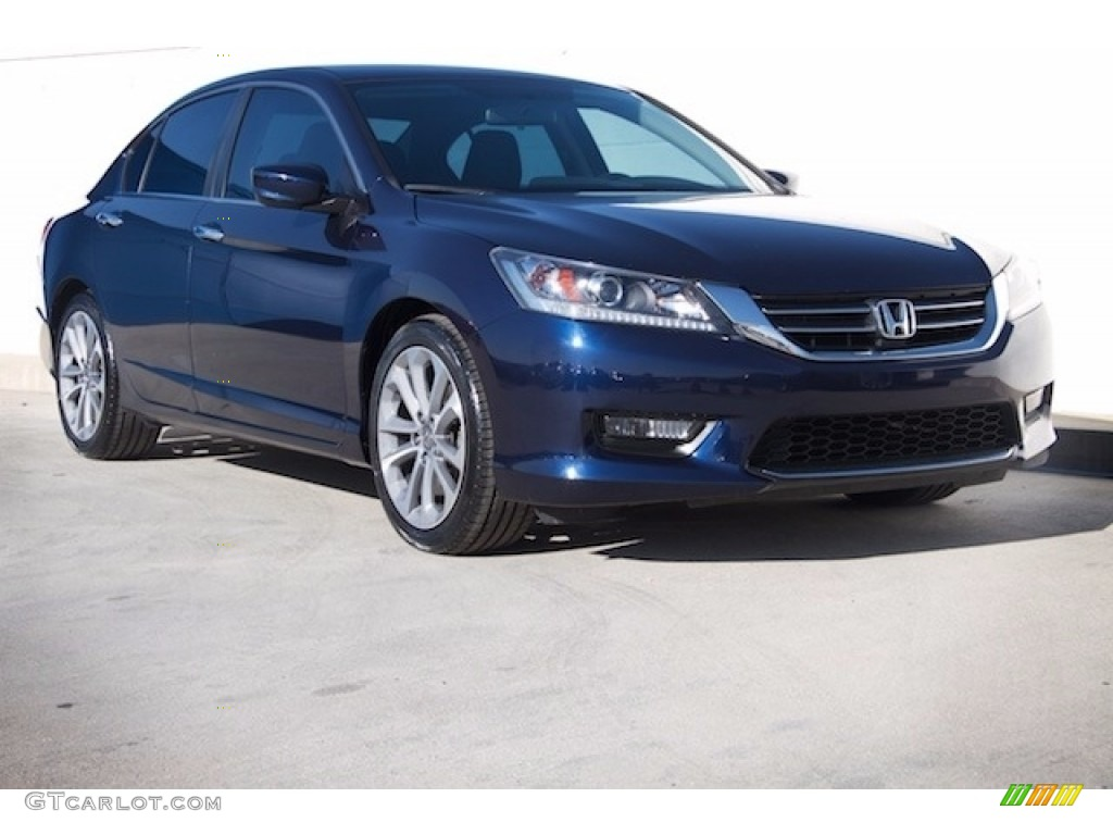 2014 obsidian blue pearl honda accord sport sedan for 2014 honda accord sedan