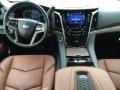 2017 Cadillac Escalade Kona Brown Interior Dashboard Photo