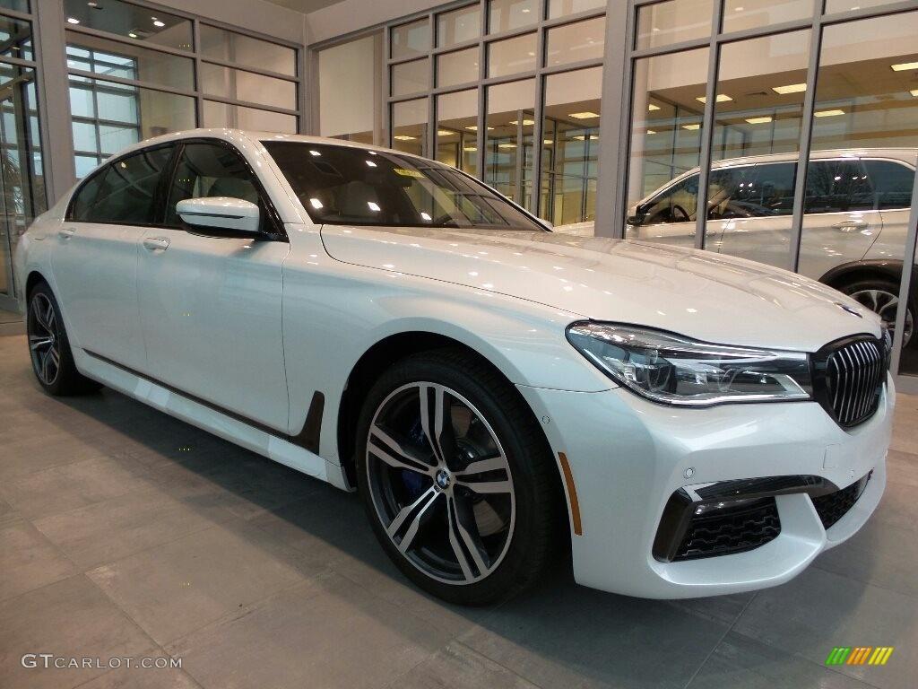 Mineral White Metallic BMW 7 Series