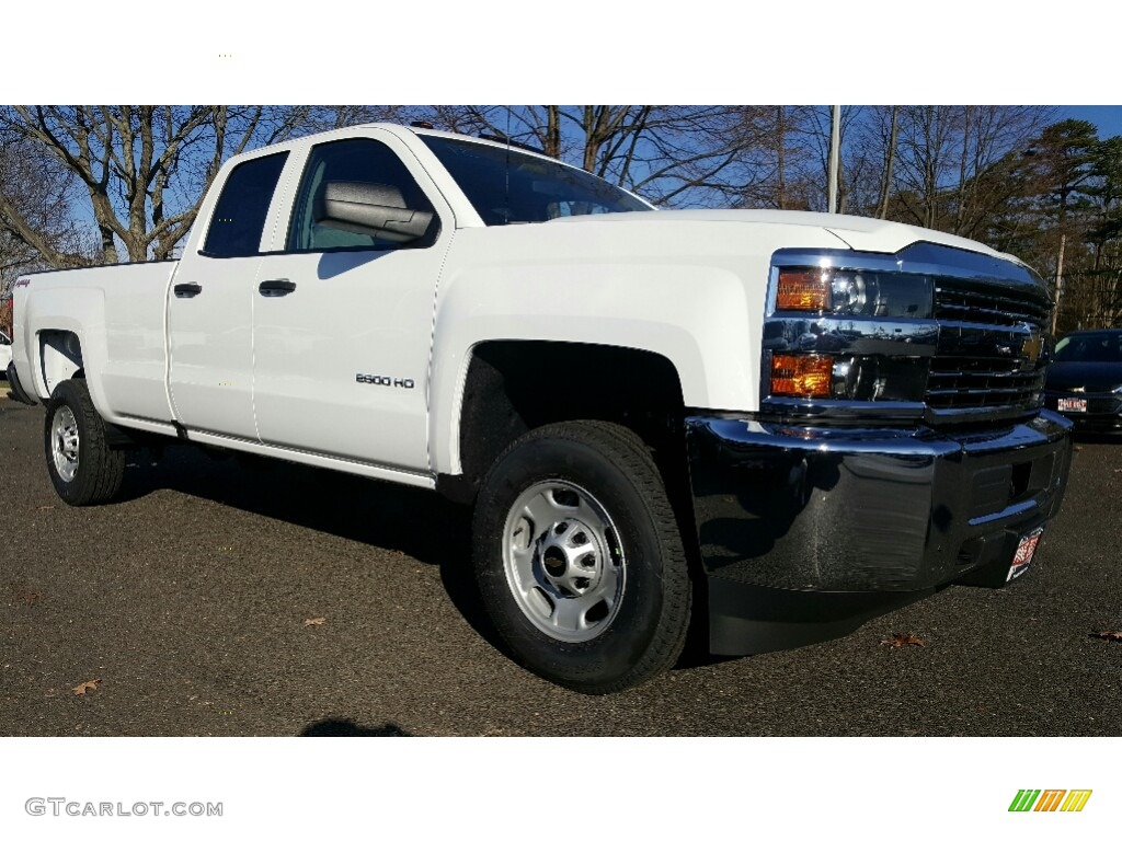 2017 Summit White Chevrolet Silverado 2500HD Work Truck ...