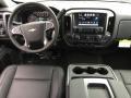 Jet Black Dashboard Photo for 2017 Chevrolet Silverado 1500 #117340954