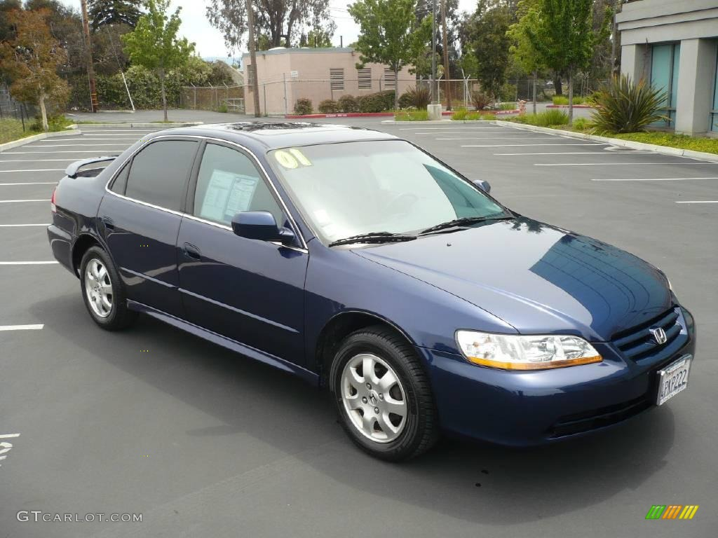 Eternal Blue Pearl Honda Accord. Honda Accord EX Sedan