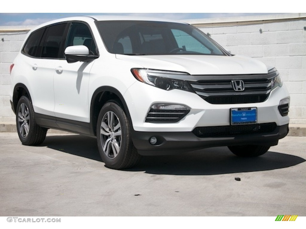2017 white diamond pearl honda pilot ex 117357500 car color galleries. Black Bedroom Furniture Sets. Home Design Ideas