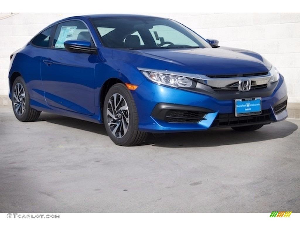 2017 aegean blue metallic honda civic lx coupe 117357509 for Blue honda civic 2017
