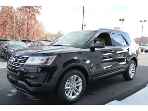 2017 Ford Explorer FWD Data, Info and Specs