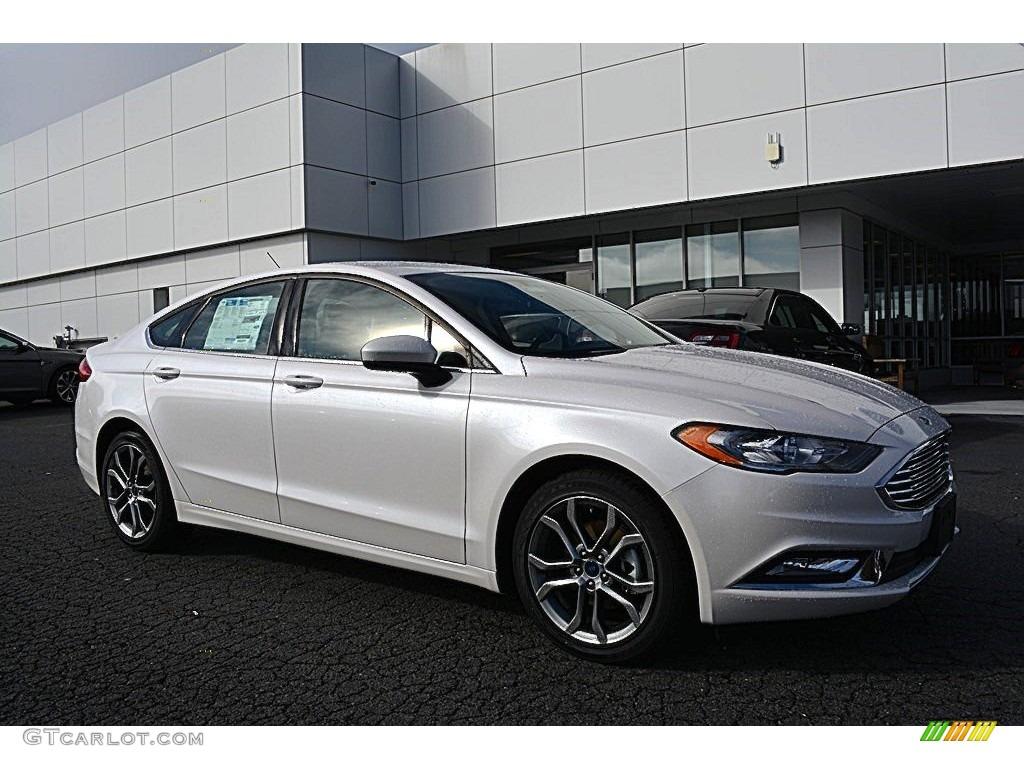 2017 White Platinum Ford Fusion Se 117365857 Photo 13