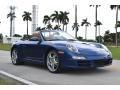 2006 Cobalt Blue Metallic Porsche 911 Carrera Cabriolet #117366034