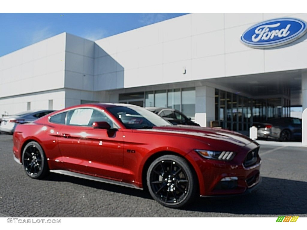 Ruby Red Mustang Ford