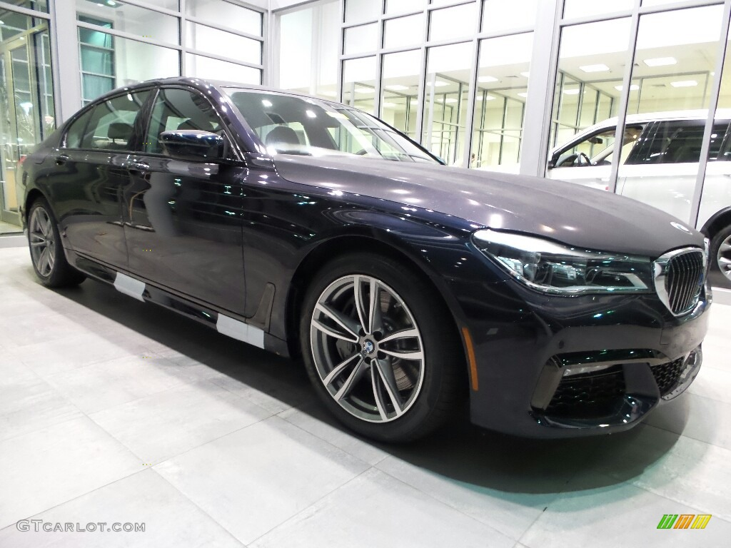 Carbon Black Metallic BMW 7 Series