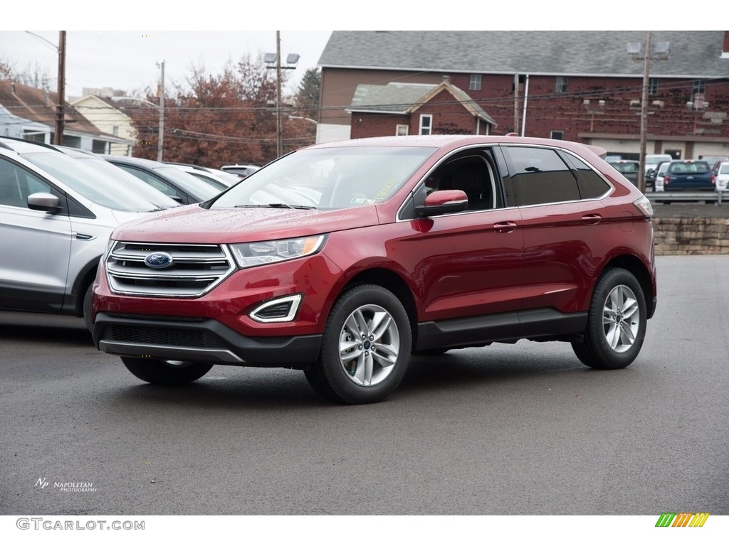 2017 ruby red metallic ford edge sel awd 117365867 car color galleries. Black Bedroom Furniture Sets. Home Design Ideas