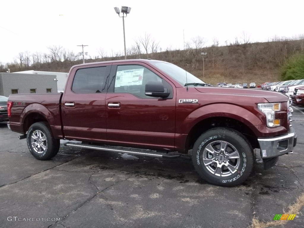 2017 Ford F150 Lightning >> 2017 Bronze Fire Ford F150 XLT SuperCrew 4x4 #117391415 | GTCarLot.com - Car Color Galleries