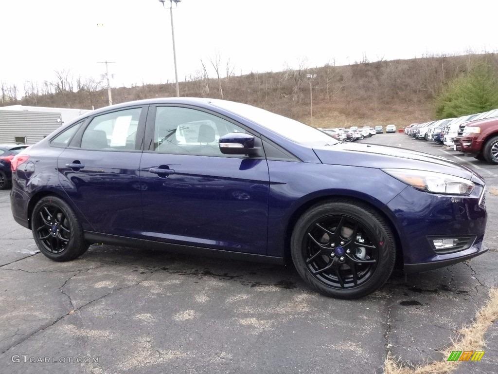 Kona Blue Ford Focus