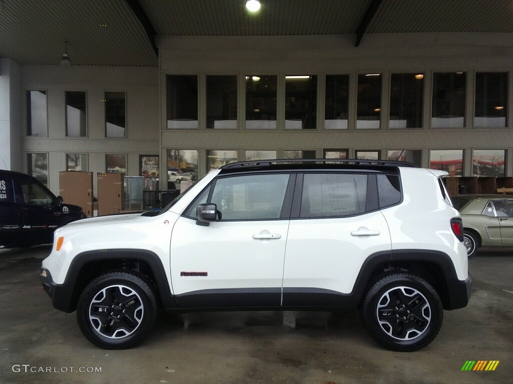 2017 alpine white jeep renegade trailhawk 4x4 117391328 photo 16 car color. Black Bedroom Furniture Sets. Home Design Ideas