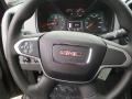 2017 GMC Canyon Jet Black/Dark Ash Interior Steering Wheel Photo