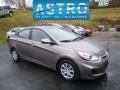 Mocha Bronze 2013 Hyundai Accent GLS 4 Door