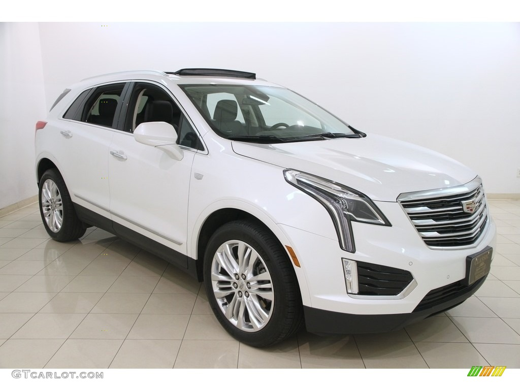 2017 Crystal White Tricoat Cadillac Xt5 Premium Luxury Awd 117391582 Car Color