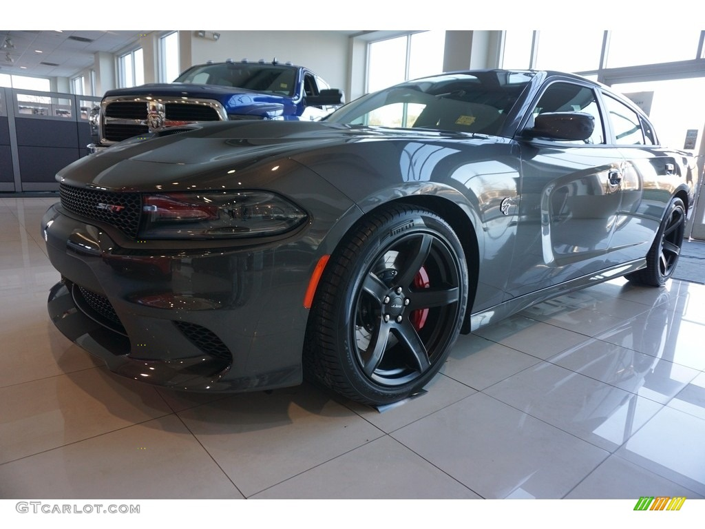 2017 Granite Pearl Dodge Charger SRT Hellcat #117412153 ...