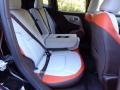 2017 Jeep Renegade Bark Brown/Ski Grey Interior Rear Seat Photo