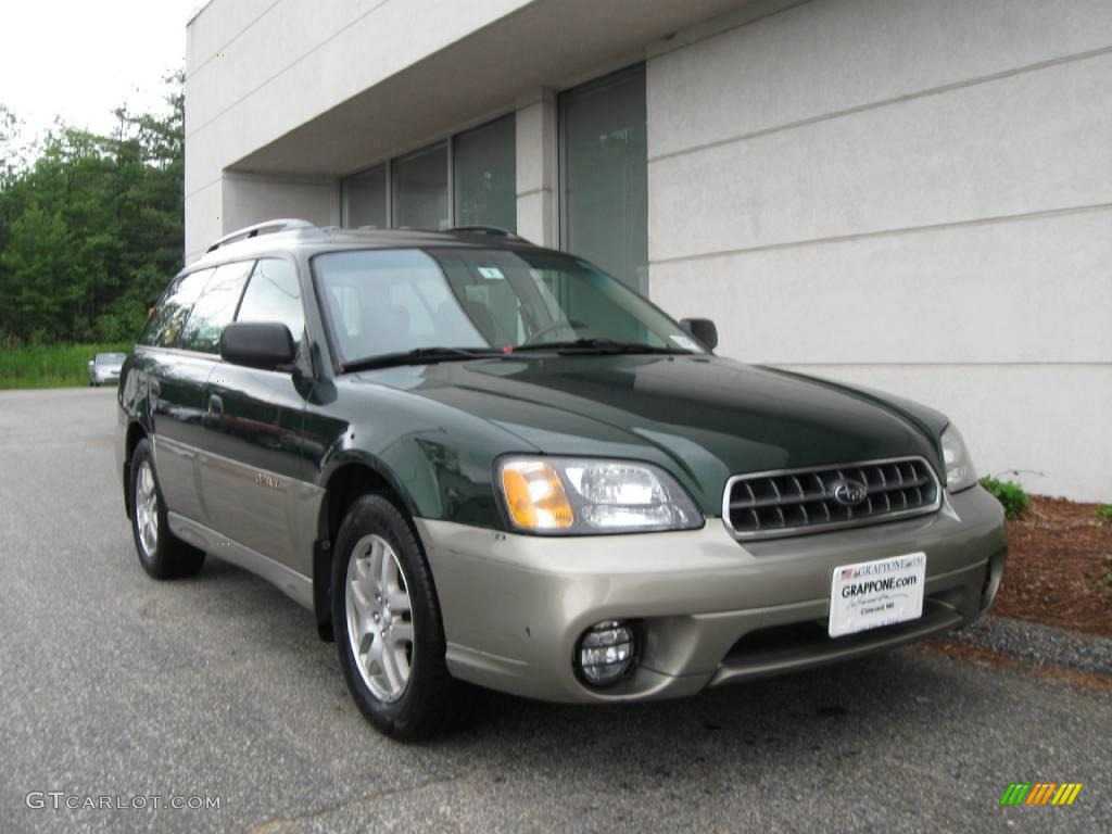 2003 timberline green pearl subaru outback wagon 11727374 2003 outback wagon timberline green pearl beige photo 1 vanachro Image collections