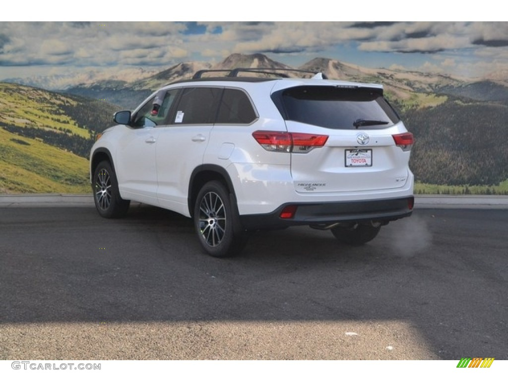 2017 blizzard white pearl toyota highlander se awd 117412037 photo 3 car. Black Bedroom Furniture Sets. Home Design Ideas