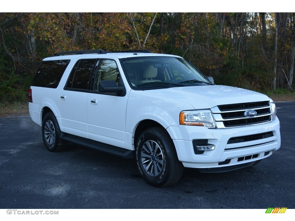 2016 Expedition El Xlt Oxford White Dune Photo 1