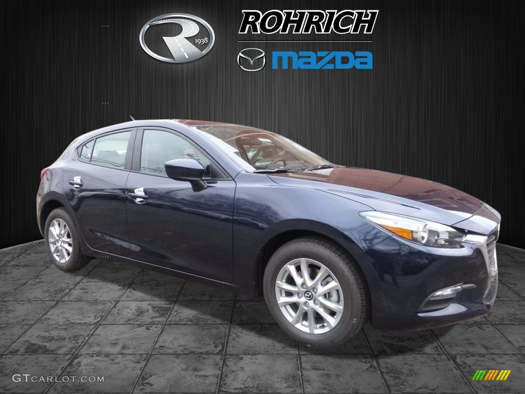 2017 deep crystal blue mica mazda mazda3 sport 5 door 117434632 car color. Black Bedroom Furniture Sets. Home Design Ideas