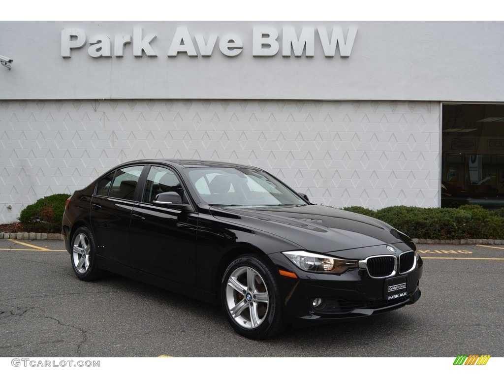 2014 jet black bmw 3 series 328i xdrive sedan 117434662 car color galleries. Black Bedroom Furniture Sets. Home Design Ideas