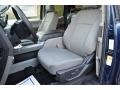 Earth Gray Front Seat Photo for 2017 Ford F150 #117444924