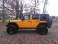 2012 Dozer Yellow Jeep Wrangler Unlimited Sport 4x4 #117434614