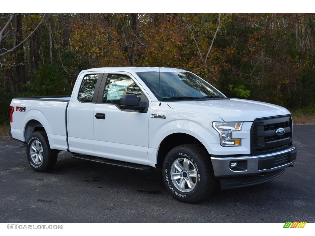2017 oxford white ford f150 xl supercab 4x4 117434870 car color galleries. Black Bedroom Furniture Sets. Home Design Ideas