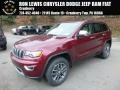Velvet Red Pearl 2017 Jeep Grand Cherokee Limited 4x4