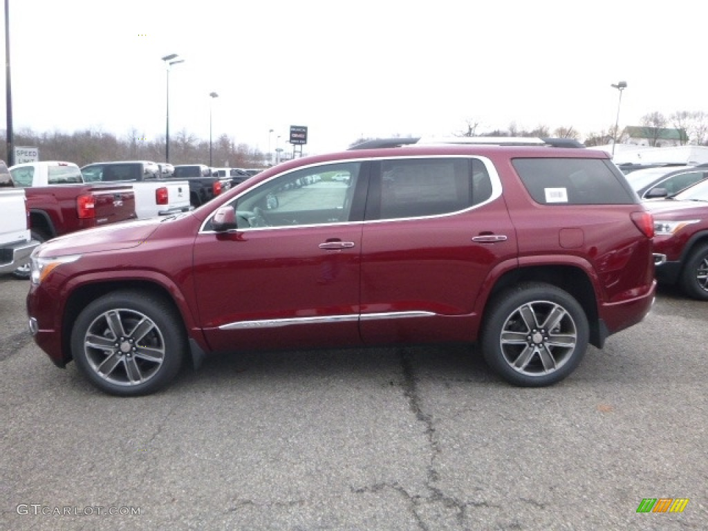 2017 crimson red tintcoat gmc acadia denali awd 117434730 photo 2 car color. Black Bedroom Furniture Sets. Home Design Ideas