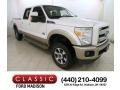 2012 White Platinum Metallic Tri-Coat Ford F250 Super Duty Lariat Crew Cab 4x4 #117460002